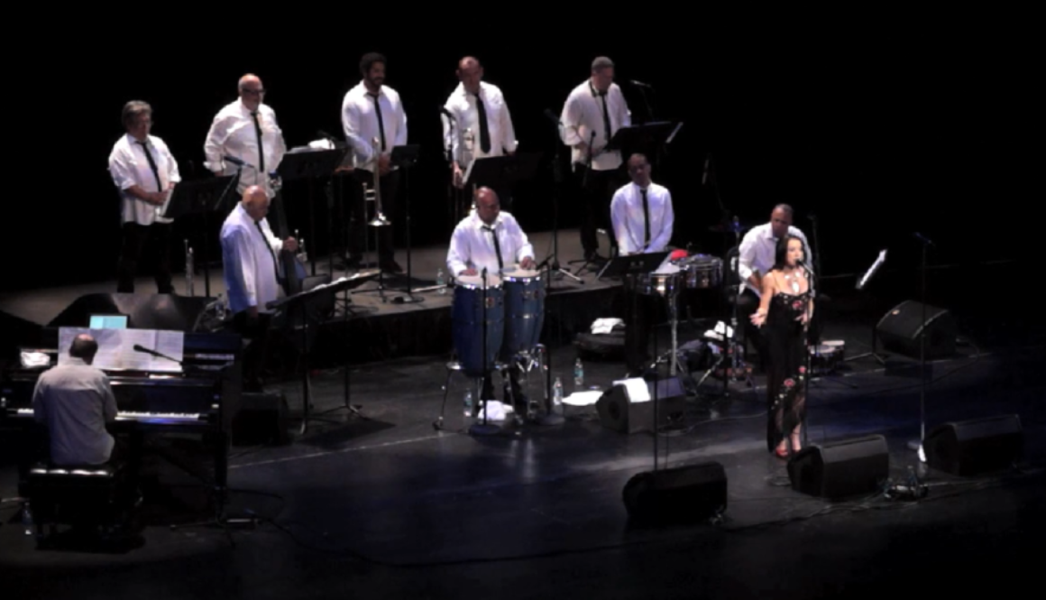 angel eyes margo rey with Spanish Harlem Orchestra