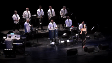 angel eyes margo rey with Spanish Harlem Orchestra